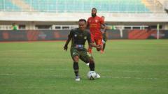 Indosport - Pertandingan Tira Persikabo vs Kalteng Putra di Stadion Pakansari, Cibinong, Bogor, Jawa Barat, dalam lanjutan pekan ke-11 Liga 1 2019, Jumat (26/07/19). Foto: Media Tira-Persikabo