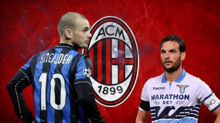 Para Bintang yang belum kesampaian wujudkan mimpi bela AC Milan - INDOSPORT
