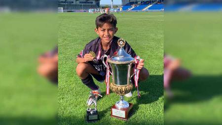 Welberlieskott de Halim Jardim saat meraih gelar juara Dana Cup 2019. - INDOSPORT