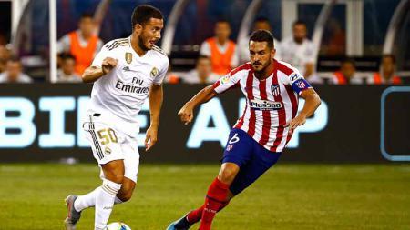 Bintang Real Madrid, Eden Hazard, dinilai memiliki berat badan berlebih usai didatangkan dari Chelsea. - INDOSPORT