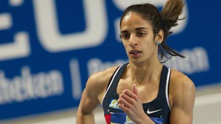 Madiea Ghafoor, pelari yang tertangkap membawa 50 kilogram narkoba di mobilnya. - INDOSPORT