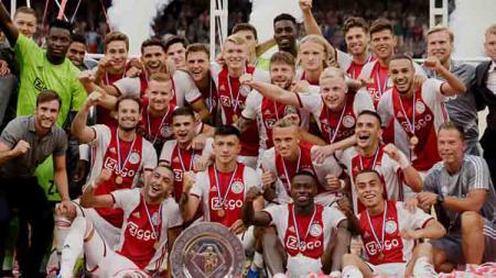 Gagal di Liga Champions musim ini membuat Ajax Amsterdam tersingkir ke Liga Europa. - INDOSPORT