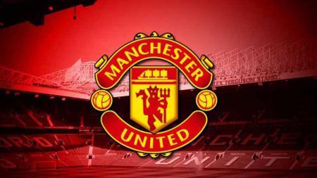 Logo klub Liga Inggris, Manchester United. - INDOSPORT