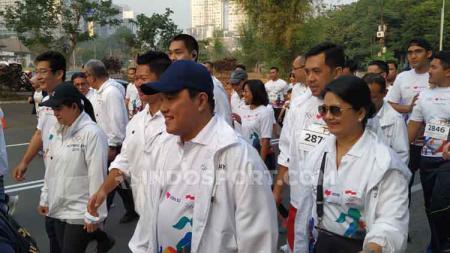 Ketua Komite Olimpiade Indonesia (KOI) Erick Thohir berharap Indonesia bisa meraih hasil terbaik dalam Olimpiade 2020 di Tokyo. - INDOSPORT