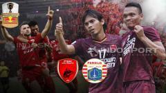 Indosport - PSM Makassar vs Persija Jakarta di final Piala Indonesia 2019.