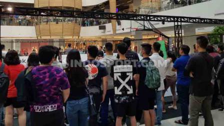 Antusiasme masyarakat Bandung menyaksikan laga IBL Gojek 3x3.