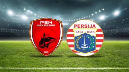 Logo PSM Makassar vs Persija Jakarta - INDOSPORT