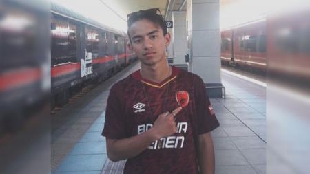 Bakat muda Indonesia Muhammad Rafid Habibie merupakan penggemar PSM Makassar. - INDOSPORT