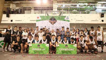 Para juara di IBL Gojek 3x3 Seri Bandung - INDOSPORT