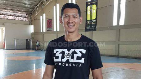 Fandi Andika Ramadhani adalah mantan pemain Stapac Jakarta yang juga aktif bermain di 3x3 Indonesia. - INDOSPORT