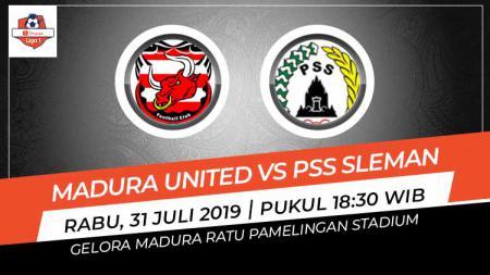 Prediksi Madura United vs PSS Sleman di Liga 1 2019. - INDOSPORT