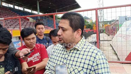 CEO PSM Makassar, Munafri Arifuddin. Foto: Adriyan Adirizky/INDOSPORT - INDOSPORT