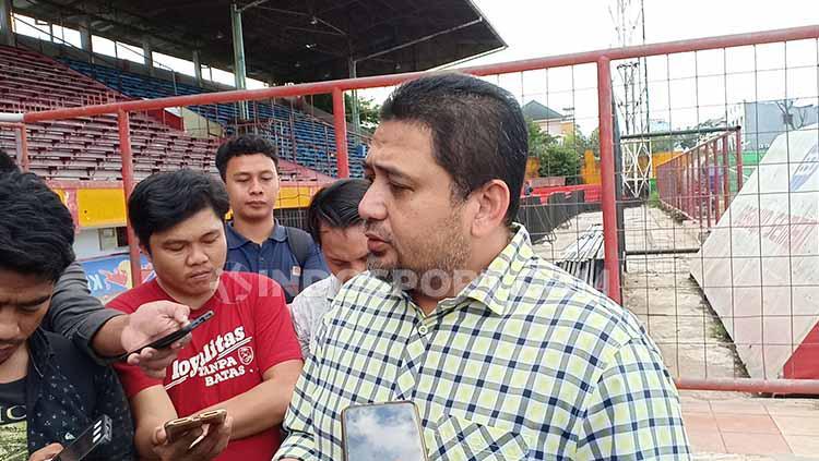 CEO PSM Makassar, Munafri Arifuddin. Foto: Adriyan Adirizky/INDOSPORT Copyright: Adriyan Adirizky/INDOSPORT