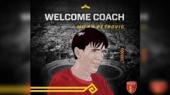Indosport - Badak Lampung FC resmi tunjuk Milan Petrovic jadi pelatih
