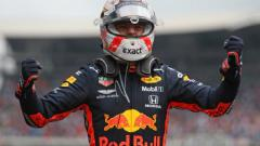 Indosport - Pembalap Red Bull Racing, Max Verstappen, juara GP Jerman 2019