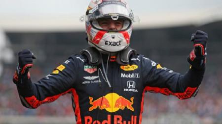 Pembalap Red Bull Racing, Max Verstappen, juara GP Jerman 2019 - INDOSPORT