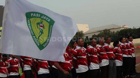 Pelantikan Pengurus PASI DKI Jakarta periode 2019-2023 di Stadion Atletik Rawamangun, Jakarta. Foto: Zainal Hasan/INDOSPORT - INDOSPORT