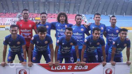 Skuat Persiraja Banda Aceh di Liga 2 2019. - INDOSPORT