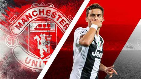 Daratkan Paulo Dybala dari Juventus, Manchester United bakal barter dengan pemain ini di bursa transfer lanjutan. - INDOSPORT