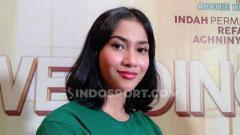 Indosport - Aktris cantik, Aghniny Haque ternyata memiliki kemampuan Taekowndo yang tak perlu diragukan lagi.