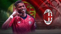 Indosport - AC Milan akan datangkan wonderkid Portugal, Rafael Leao.