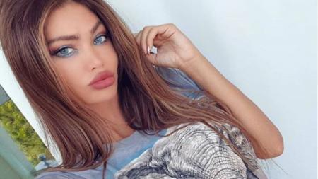 Soraja Vucelic, model cantik yang pernah dikabarkan jadi selingkuhan Neymar. - INDOSPORT