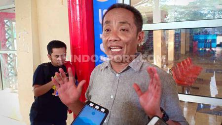 Ali Gauli, Ketua Panpel Laga Kandang PSM Makassar. - INDOSPORT