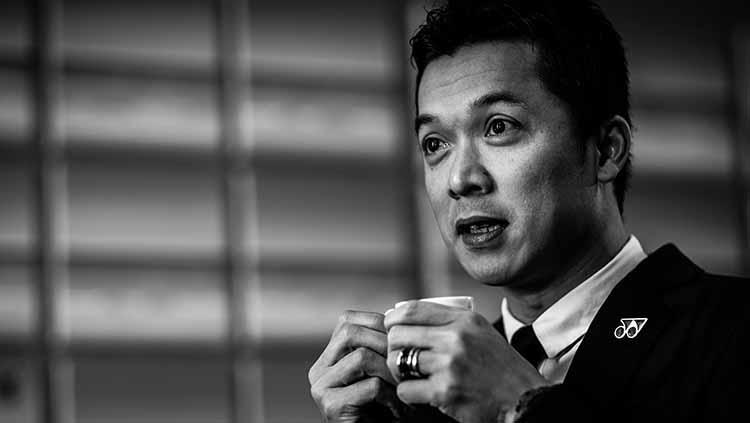 Eks bulutangkis Indonesia, Taufik Hidayat diperiksa Komisi Pemberantasan Korupsi (KPK). Copyright: Shi Tang/Getty Images