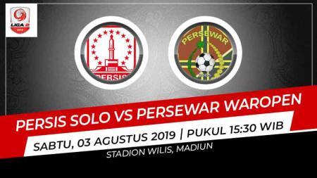 Prediksi Persis Solo vs Persewar Waropen di Liga 2 2019. - INDOSPORT