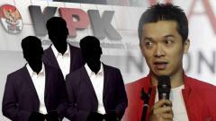 Indosport - Senasib Taufik Hidayat, 3 pemilik klub Liga Indonesia pernah berurusan dengan KPK.
