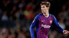 Indosport - Juan Miranda, bek tengah Barcelona dikabarkan akan diboyong Juventus.