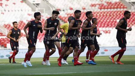 Official Training tim Persija Jakarta. - INDOSPORT