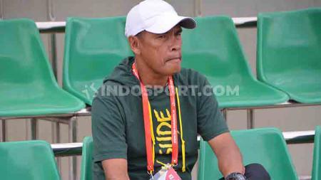 Abdul Rahman Gurning resmi menyatakan mundur dari kursi kepelatihan PSMS Medan. - INDOSPORT