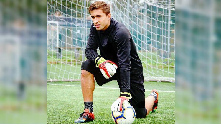 Jacopo Viola, Eks Kiper AC Milan yang Dikaitkan ke Persib Bandung. Copyright: https://www.instagram.com/jacopoviola_gk/