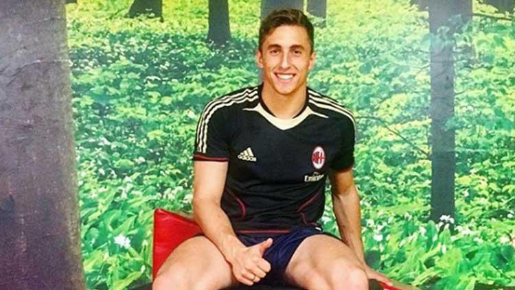 Eks kiper AC Milan U-19 Jacopo Viola. Copyright: Instagram/@jacopoviola_gk