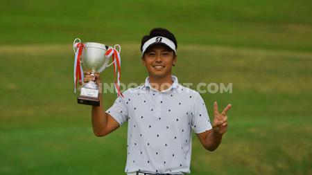 Naoki Sekito menjadi juara Asian Development Tour 2019 di Indonesia - INDOSPORT