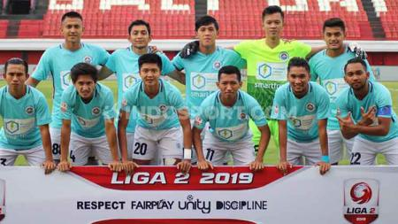 Skuat Sulut United di Liga 2 2019. Sulut united akan menghadapi Persewar Waropen di Liga 2 Senin (21/10/19) sore. - INDOSPORT