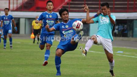 Pertandingan Sulut United vs PSIM Yogyakarta pada Liga 2 2019 pekan ke-9 di Stadion Kapten I Wayan Dipta Gianyar, Sabtu (03/08/19). - INDOSPORT