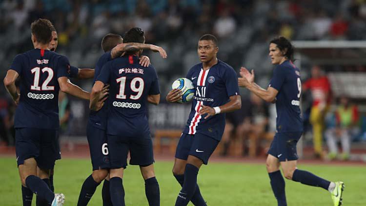 PSG jadi juara Piala Super Prancis 2019 Copyright: Lintao Zhang/GettyImages