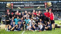 Indosport - Dapat juara secara gratis karena Ligue 1 Prancis selesai lebih cepat, bos PSG, Nasser Al-Khelaifi, angkat suara.