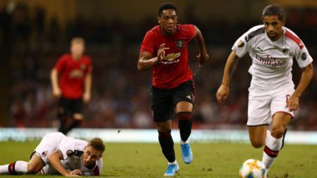Pertandingan ICC 2019 Manchester United vs Ac Milan, Minggu (04/08/19). - INDOSPORT