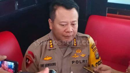 Kapolrestabes Makassar, Kombes Pol Wahyu Dwi Ariwibowo. Foto: Adriyan Adirizky/INDOSPORT - INDOSPORT