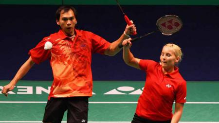 Satwiksairaj Rankireddy/Chirag Shetty mengakui kalau 'siksaan' yang mereka terima dari legenda Indonesia, Flandy Limpele membuat mereka kini menjadi lebih kuat. - INDOSPORT