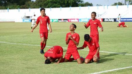 Berita sport: Daftar klasemen akhir Grup A Piala AFF U-15 2019 membuat Timnas Indonesia finis teratas dan Timor Leste secara mengejutkan tersingkir. - INDOSPORT