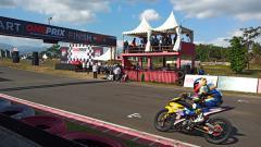 Indosport - Kejuaraan balap nasional Oneprix Indonesia Motorprix Championship 2019