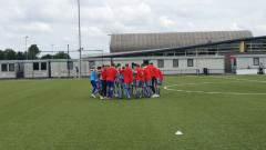 Indosport - Jack Brown Bersama Lincoln FC U-18 melakukan tour pramusim di Belanda