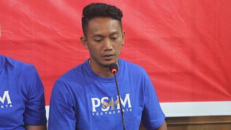 Gelandang PSIM Yogyakarta, Raymond Tauntu. - INDOSPORT