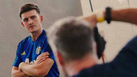 Ada sosok 'Harry Maguire' yang menjadi steward di satu laga divisi empat Liga Inggris (10/08/19). - INDOSPORT