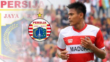 Pemain Madura United Fachrudin Aryanto resmi ke Persija Jakarta. Foto: penawarta.com - INDOSPORT