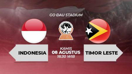 Timnas Indonesia U-18 vs Timor Leste U-18 bisa disaksikan di Vidio.com. - INDOSPORT